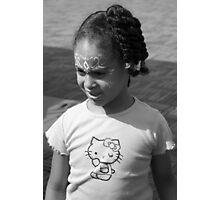 Musti Girl Photographic Print
