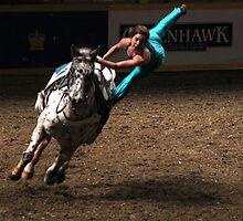 Acrobat on Horseback by photobylorne