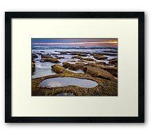 13th Beach ~ Rock Pool Framed Print