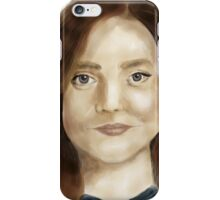 Impossible girl iPhone Case/Skin