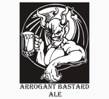 Arrogant Bastard Ale T-shirt by Michael Sundburg