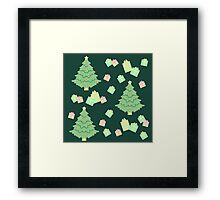 Christmas Tree with Presents #5 Framed Print