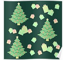 Christmas Tree with Presents #5 Poster