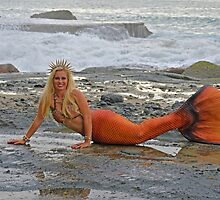 Mermaid Khaleesi Calypso by AlynnArts
