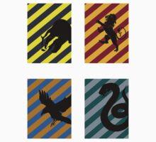 The Four Houses by kittenblaine