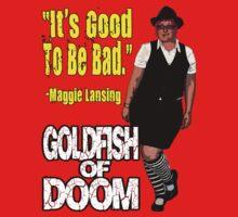 Goldfish of Doom - Maggie Bad by perilpress