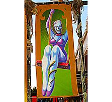 Zombie Flag at Fright Night, Great Adventure Photographic Print