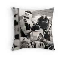 One For The Money Throw Pillow