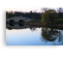 Ponder Reflection Canvas Print