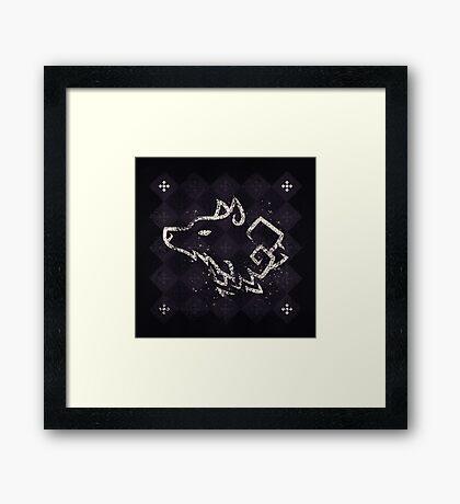 House Stark - Game of Thrones Framed Print