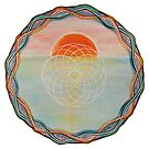 Mandala : Celtic Sunset  by danita clark