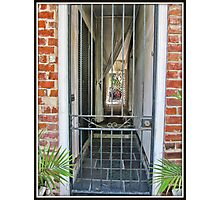 Gated Entry Photographic Print