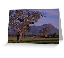 acheron valley victoria australia Greeting Card
