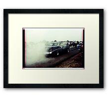 00321 Framed Print