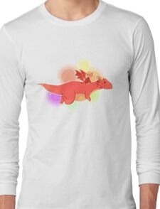 TH : nyan smaug 2 Long Sleeve T-Shirt