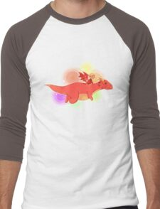 TH : nyan smaug 2 Men's Baseball ¾ T-Shirt