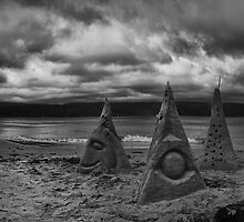 Sand Sculptures of Scorching Bay by Peter Kurdulija