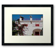 Colours of Capri, Italy Framed Print