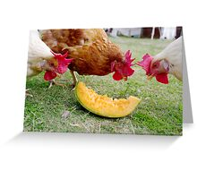 Afternoon Snack Greeting Card