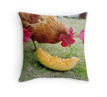 Afternoon Snack Throw Pillow