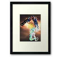 Celestia Heeds the Call of the Last Prime Framed Print