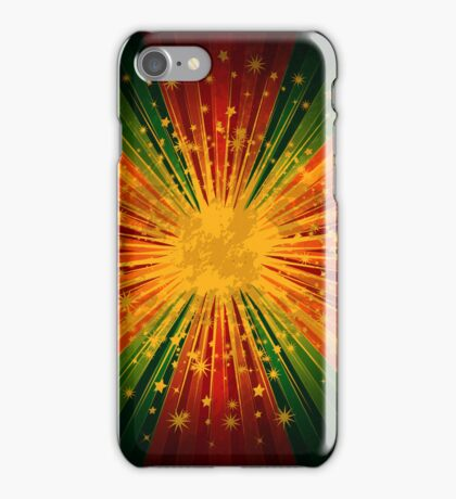 Retro Colorful Stripe Stars Explosion iPhone 5 / iPhone 4 Case / Samsung Galaxy Cases  iPhone Case/Skin