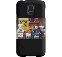 Thanksgiving with Doc and Marty Samsung Galaxy Case/Skin