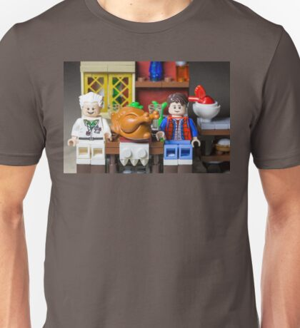 Thanksgiving with Doc and Marty Unisex T-Shirt