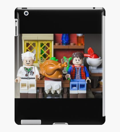 Thanksgiving with Doc and Marty iPad Case/Skin