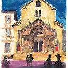 Church Saint Trophime, Arles, Provence by aceshirt