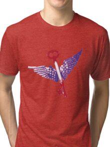 Flying Keys Tri-blend T-Shirt