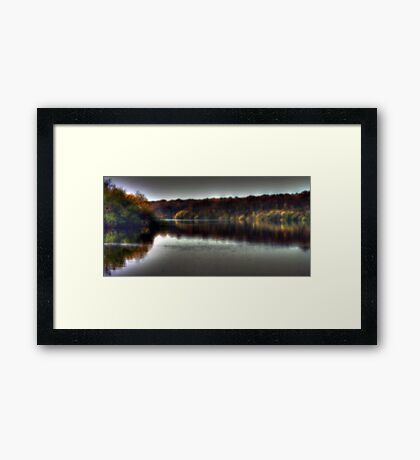 Autumn at Bewl Water  Framed Print