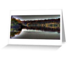 Autumn at Bewl Water  Greeting Card