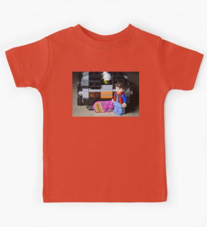 Marty Gets the Hoverboard out Kids Tee