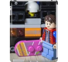 Marty Gets the Hoverboard out iPad Case/Skin
