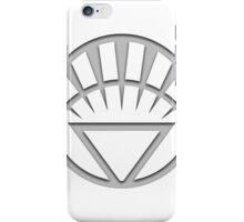 White Lantern Insignia iPhone Case/Skin