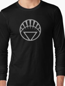 White Lantern Insignia Long Sleeve T-Shirt