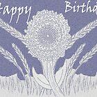 Happy Birthday in Mauve by KazM