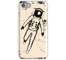 Retro Space Moon Walking iPhone 5 / iPhone 4 Case / Samsung Galaxy Cases  iPhone Case/Skin