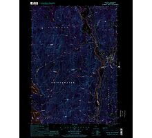 USGS TOPO Map New Hampshire NH Ashland 329469 2000 24000 Inverted Photographic Print