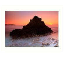 Another Cathedral Rocks  Art Print