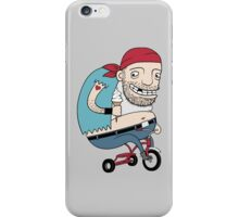 Bikie on a Trikie iPhone Case/Skin