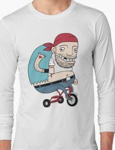 Bikie on a Trikie Long Sleeve T-Shirt