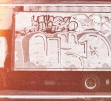 Vintage Graffiti New York. Sticker