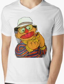 Duck and Loathing Mens V-Neck T-Shirt