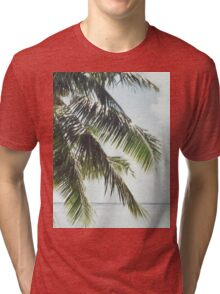 Palm Tree Vintage Tri-blend T-Shirt