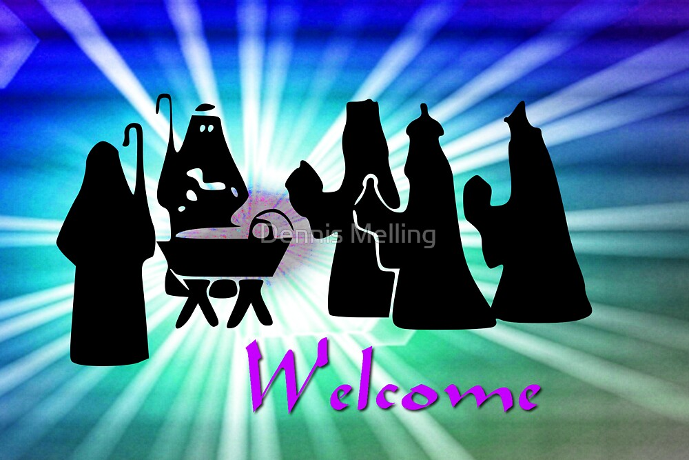 The Arrival of the Three Wise Men - Welcome by Dennis Melling