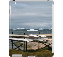 Kayaks Ready for Use iPad Case/Skin