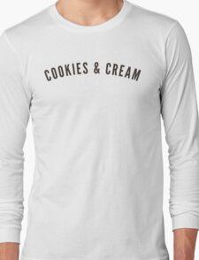 COOKIES & CREAM Long Sleeve T-Shirt