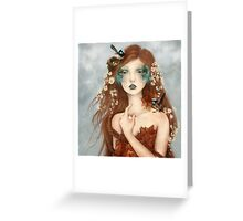 Nymphs: Wrencatcher Greeting Card
